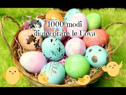 Decorazione uova di pasqua con smalto easter eggs dec - 1000 modi per cucinare le uova ...