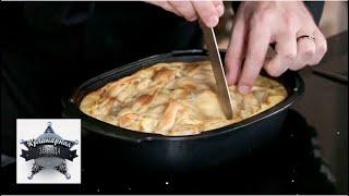 Теплый картофельный пирог с сельдью. Видео рецепт от шеф-повара