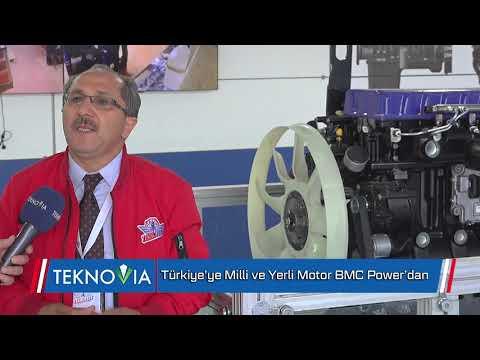Türkiye'ye Milli ve Yerli Motor BMC Power'dan