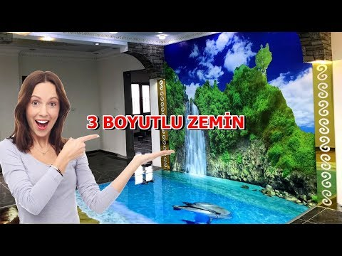3D EPOKSİ ZEMİN UYGULAMASI (3D Floor Epoxy)
