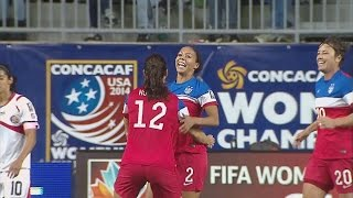 WNT vs. Costa Rica: Sydney Leroux Goal - Oct. 26, 2014