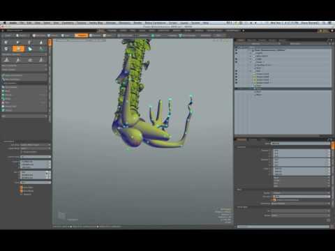 MODO: Extant - Photorealistic 3D Procedural Modeling