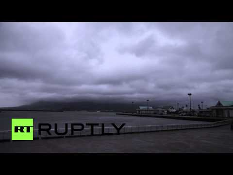 Japan: Typhoon Neoguri thrashes Kagoshima prefecture
