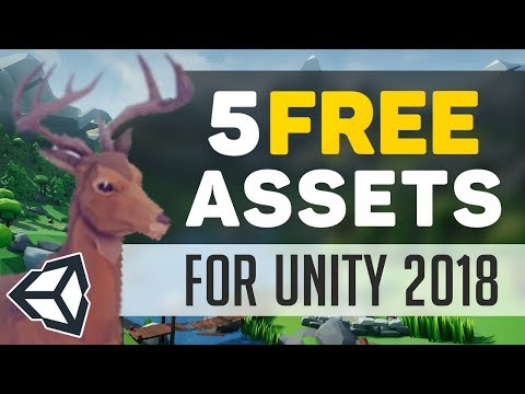 5 FREE Assets in Unity 2018 (March Edition)