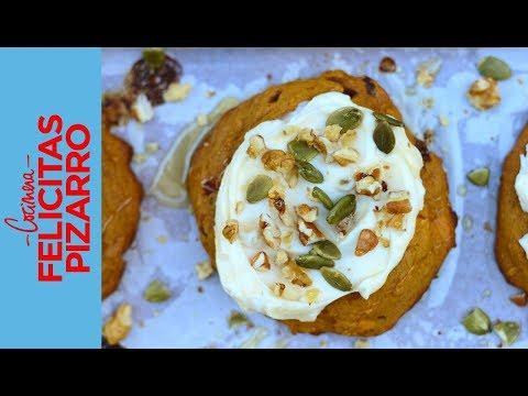 Cookies de Calabaza (Pumpkin Cookies) | Felicitas Pizarro