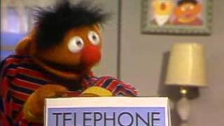 Classic Sesame Street Bert Tries to Make a Call