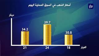 ارتفاع أسعار الذهب محليا - (24/2/2020)