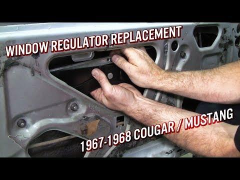 Left 65 66 Ford Mustang Window Regulator Scissors