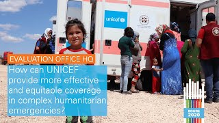 #BOURE2020: How can UNICEF provide more effective & equitable coverage in humanitarian emergencies?
