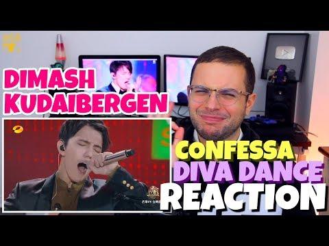 Dimash Kudaibergen - Confessa x The Diva Dance | The Fifth Element | REACTION