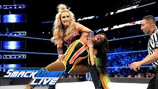 Naomi vs. Natalya: SmackDown LIVE, April 10, 2018
