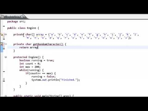 Speed Programming Random String Generator Java