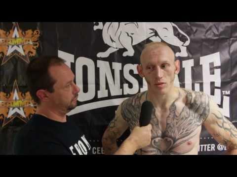Colin Fletcher: BAMMA 13 Post Fight Interview