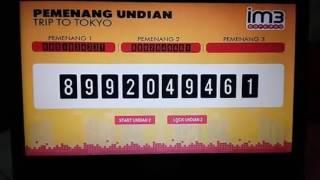 pengundian Lucky draw dengan sistem registrasi barcode | Smart Barcode System 0813-8156-6866