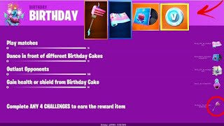 How to Redeem Free Birthday Rewards! Fortnite 2nd Birthday Event!