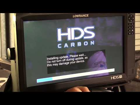 Dean Silvester - How to Update Lowrance HDS Carbon Using Wifi