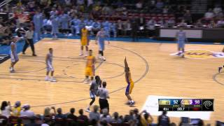 Quincy Miller Hits 54-footer at the Buzzer