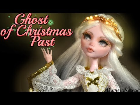 Ghost of Christmas Past - A Chrismas Carol inspired Doll Repaint