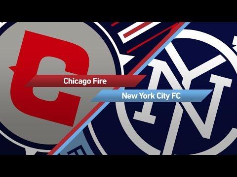 Highlights: Chicago Fire vs. New York City FC   September 30, 2017