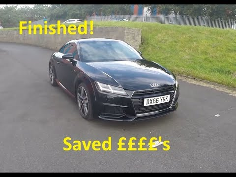 Rebuilding A Wrecked 2016 Audi TT Part 6 Saved ££££'S