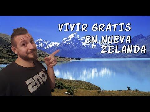 VIVIR GRATIS EN NUEVA ZELANDA, LIVING FREE IN NEW ZEALAND. vivir en el extranjero