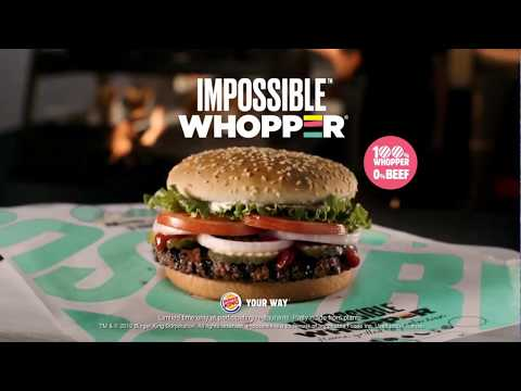 Justin The Web Guy - The Impossible Whopper Becomes A Great Seller For Burger King!