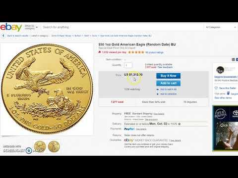 1 oz BU Silver Krugerrand @ $37.49 & 1 oz Gold Eagle $13 Under Spot Price!