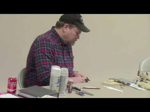Curt Soine Shows The Process For Carving Fishing Decoys  Feb 2018