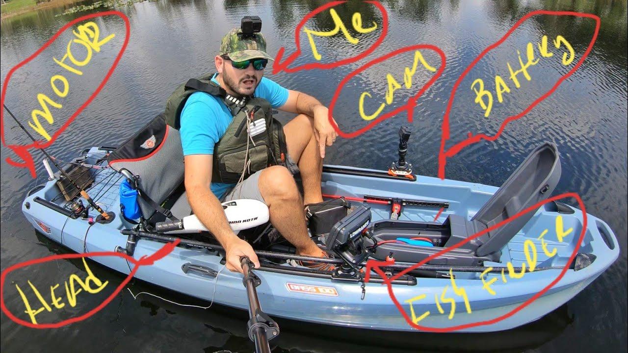 Trolling Motor on Jonny Bass 100 Setup and Water TEST