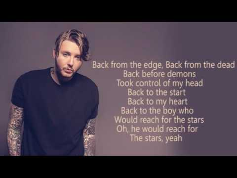 JAMES ARTHUR  Back From The Edge  Lyric