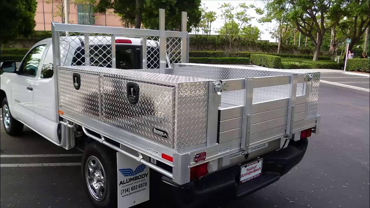 Aluminum Truck Beds Alumbody Youtube