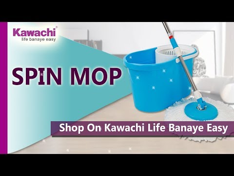 360 Degree Easy Spin Mop Floor Cleaning made Easy