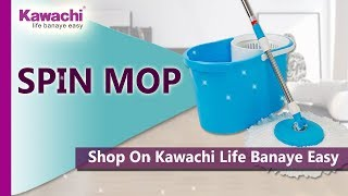 360 Degree Easy Spin Mop Floor Cleaning made Easy | Kawachigroup.com