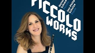 """Gambar cover Natalie Schwaabe - """"Piccolo Works"""" Plädoyer für ein verkanntes Instrument"""