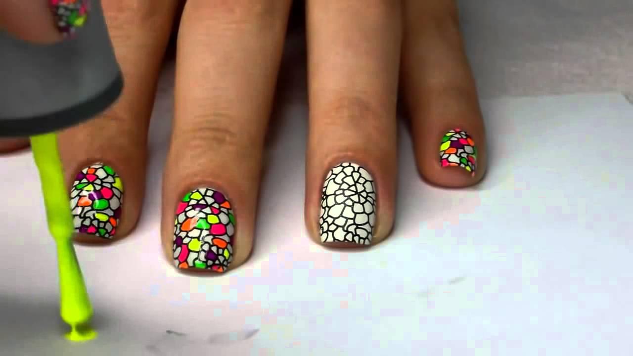 детский маникюр на коротких ногтях фото