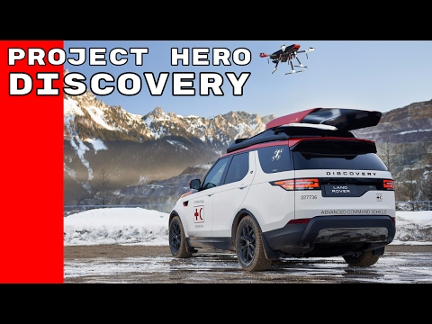 Austrian Red Cross 2017 Land Rover Discovery Project Hero