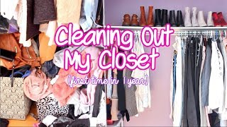 Video Cleaning out my closet for the FIRST TIME In 1 YEAR ! download MP3, 3GP, MP4, WEBM, AVI, FLV November 2018