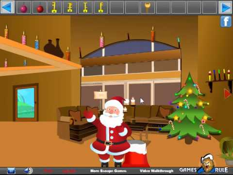 Santa christmas gifts escape walkthrough