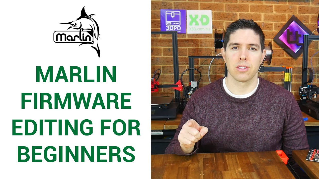 Download Beginner guide to editing Marlin firmware - step by step - UPDATE IN DESCRIPTION