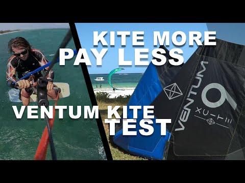 I Tried Kiteboarding For Half The Price - Ventum Kite Test