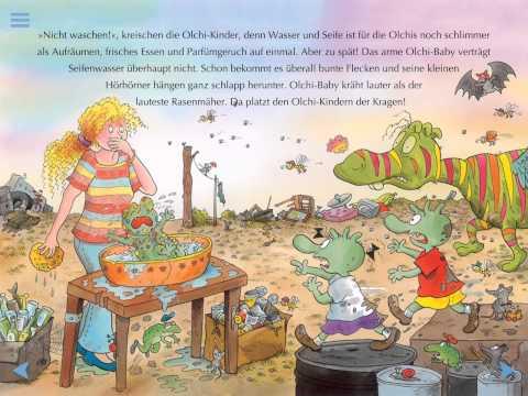 Kinderbücher Olchis - allein zu Haus