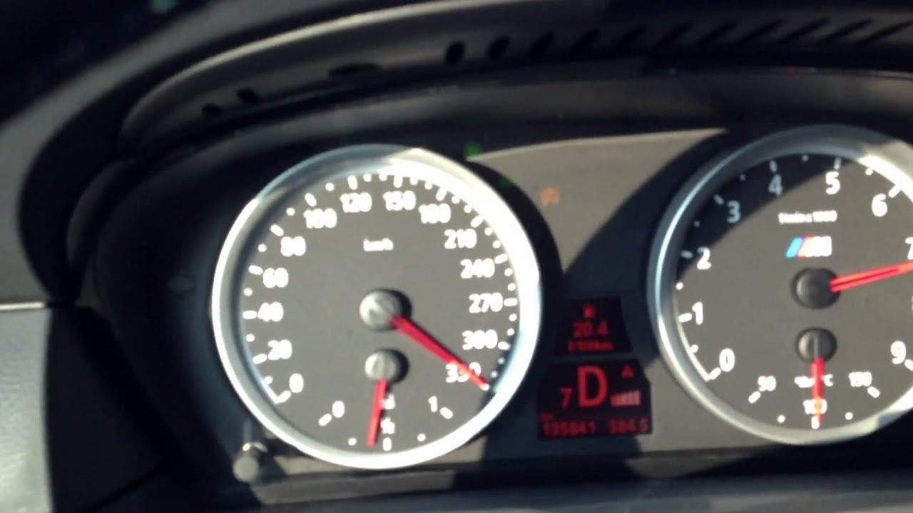 BMW M5 E60 F1 Top Speed 340 kmh - Black Beast Acceleration! - YouTube