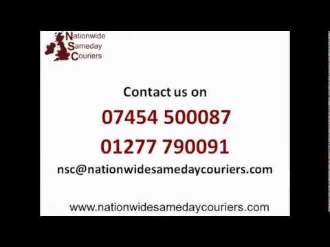 Nationwide Sameday Couriers Promotional Video
