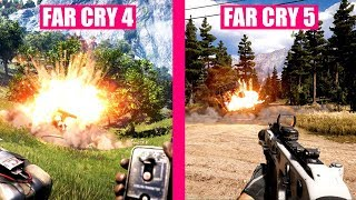 Far Cry 5 vs Far Cry 4 Graphics Evolution Comparison