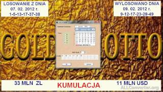 Film nr 17. Program Goldenlotto wskazuje pewniaki w Lotto.