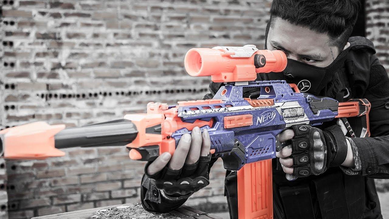 Ltt Nerf War  Nerf Guns Battle Between Close Friends