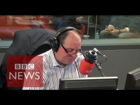 Moment James Naughtie said goodbye to Today programme - BBC News