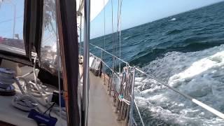 Sailing from Cuttyhunk to RI