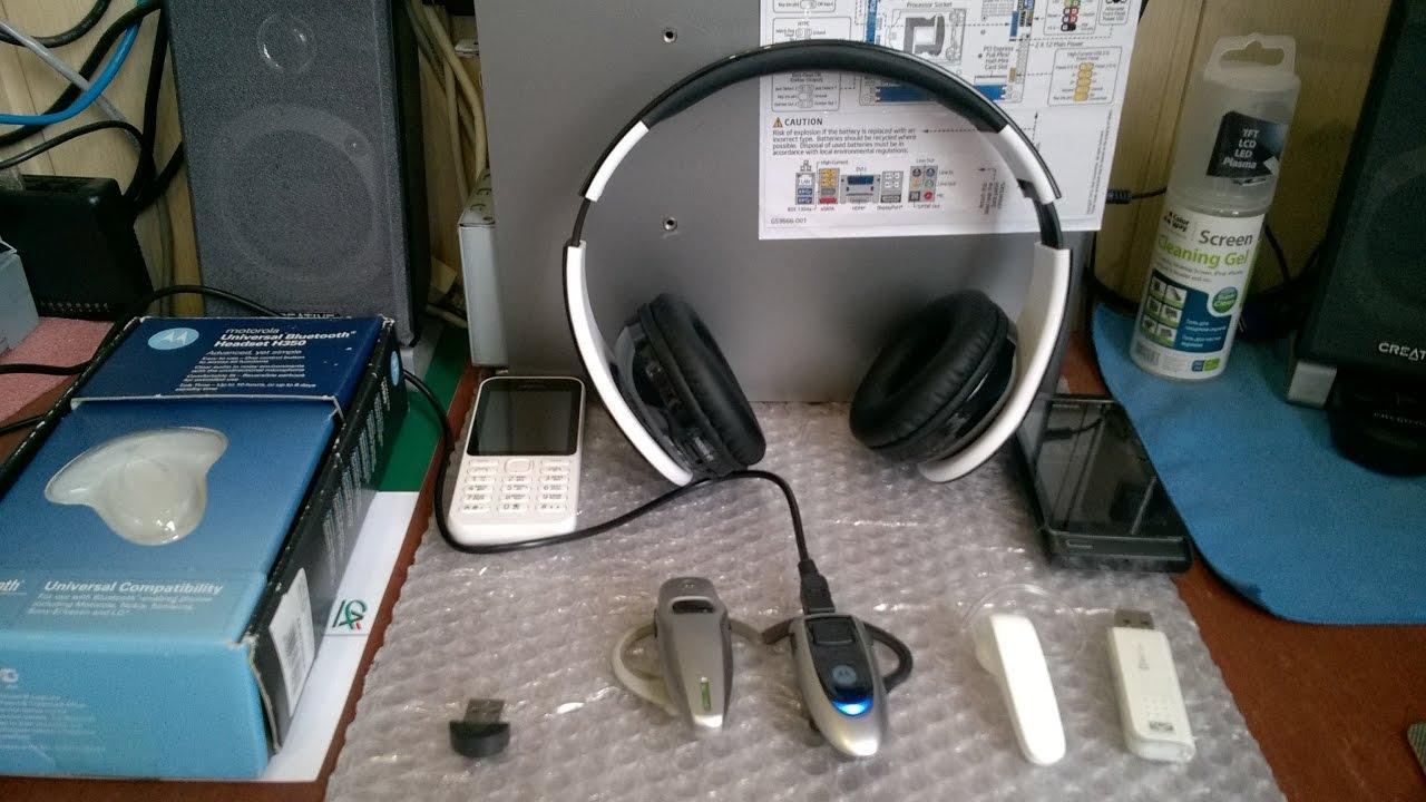 , тест - Bluetooth гарнитур Motorola HS805,H350; Genai B19D4; SVEN-AP-B450MV+CN-BTU2