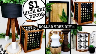 $1 DIY HOME DECOR IDEAS | DOLLAR TREE DIY's 2020 | Anthropologie Inspired